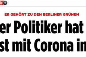 德国柏林一区长自曝成心感染新冠病毒为了不让已确诊女友独立阻隔